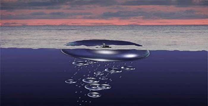 Gelembung Gas Metana di Dasar Laut Penyebab Kapal tenggelam