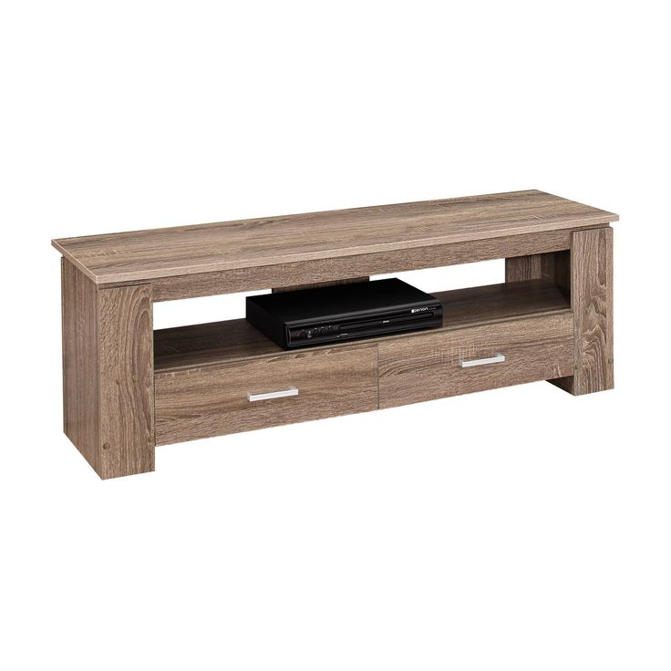 TV Stand with Drawers - Dark Taupe- EveryRoom, Dark Taupe