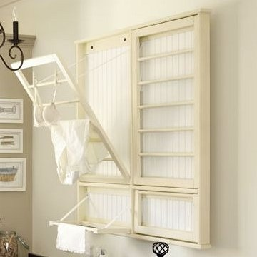 I need something to hang the line dry items on....I love this.  Don't know if it would work in our mudroom or not...