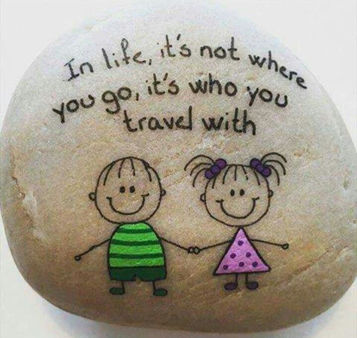 ♡ In life, it's not where you go, it's who you travel with  ♡