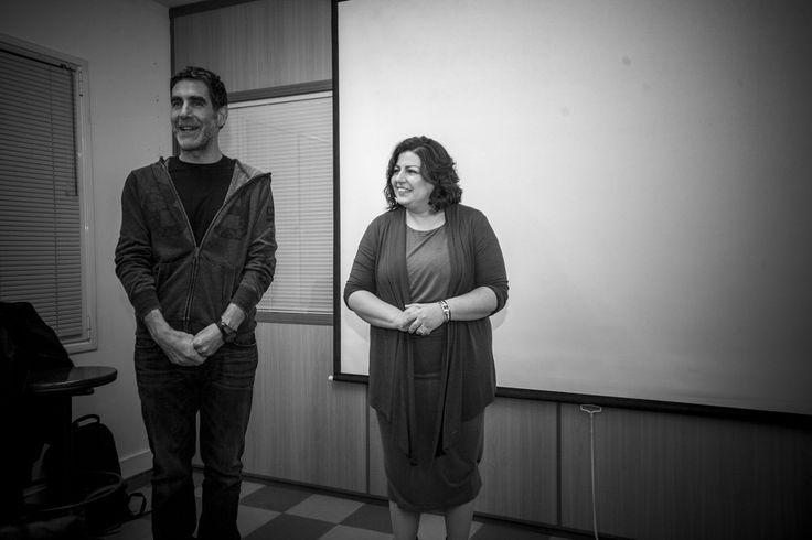 Ολοκληρώνοντας τη συζήτηση, με τη Δέσποινα Κλούβα, δασκάλα φωτογραφίας και ιδιοκτήτρια του Νοτίου.