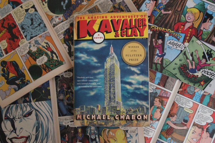 The Amazing Adventures of Kavalier & Clay by Michael Chabon.  (Or, really, anything by Michael Chabon.)