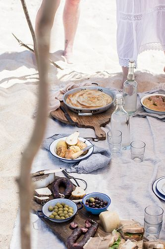 Local Milk x Little Upside Down Cake Portugal Styling & Photography Workshop, Beach Picnic by Beth Kirby | {local milk}, via Flickr