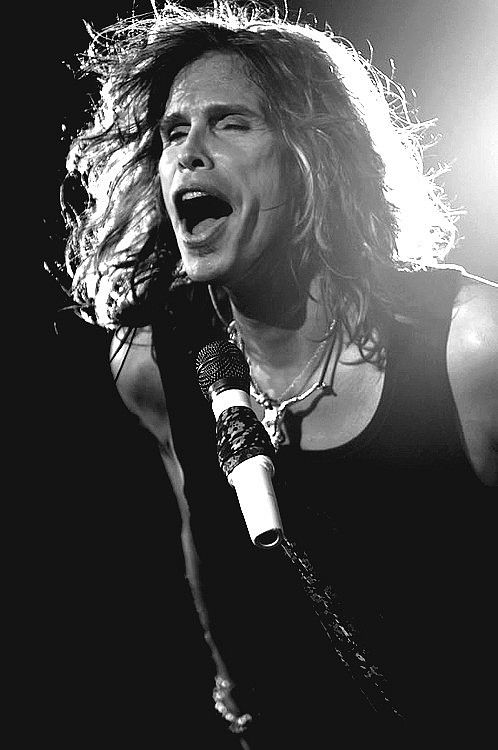Steven Tyler of Aerosmith! Just love him...miss him a a judge on American Idol ...he was awesome!!!