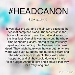 Instagram photo by _percy_posts_ - {My Edit Give Credit} This is one of the headcanons that could be a different way blood of Olympus could have ended - so plz don't tell me that's not how it ends bc Ik Ok so this is another random #headcanon I thought of! If you repost please give creds All of my headcanons are here ➡️ #percypostsheadcanons Please don't use this hashtag I always post 3 headcanons in a row and I have so many people to tag so 1/3 of u is going to be tagged in the 1st…