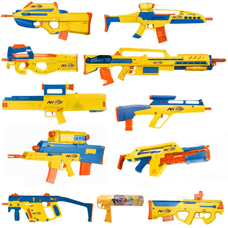 Which Nerf gun model would you like to own?