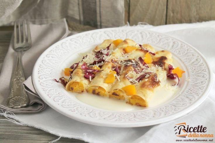 Una ricetta originale per preparare dei cannelloni gustosi e diversi dal solito utilizzando il vino novello.