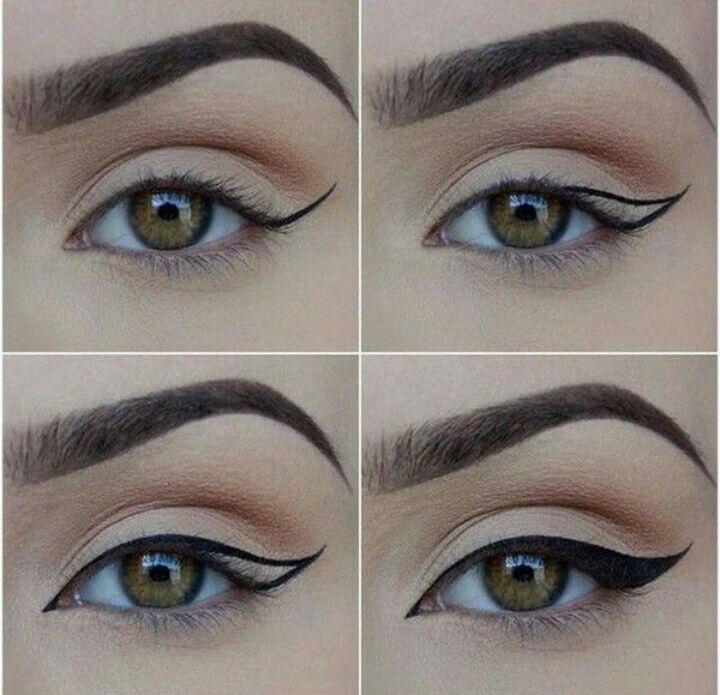 Imagini pentru perfect eyeliner steps