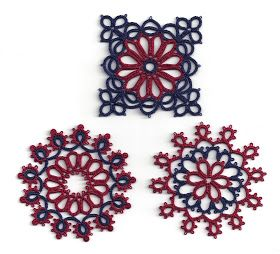 Tatting Fool: Three Motifs