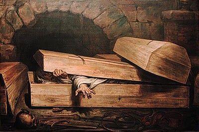 Antoine Wiertz, The Premature Burial (L'inhumation précipitée), 1854