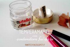 inartesy: Temperamatite con contenitore fai da te #handmadebacktoschool2016