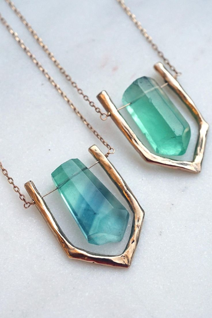 Did you know you need a fluorite necklace? No? Well, now you do.