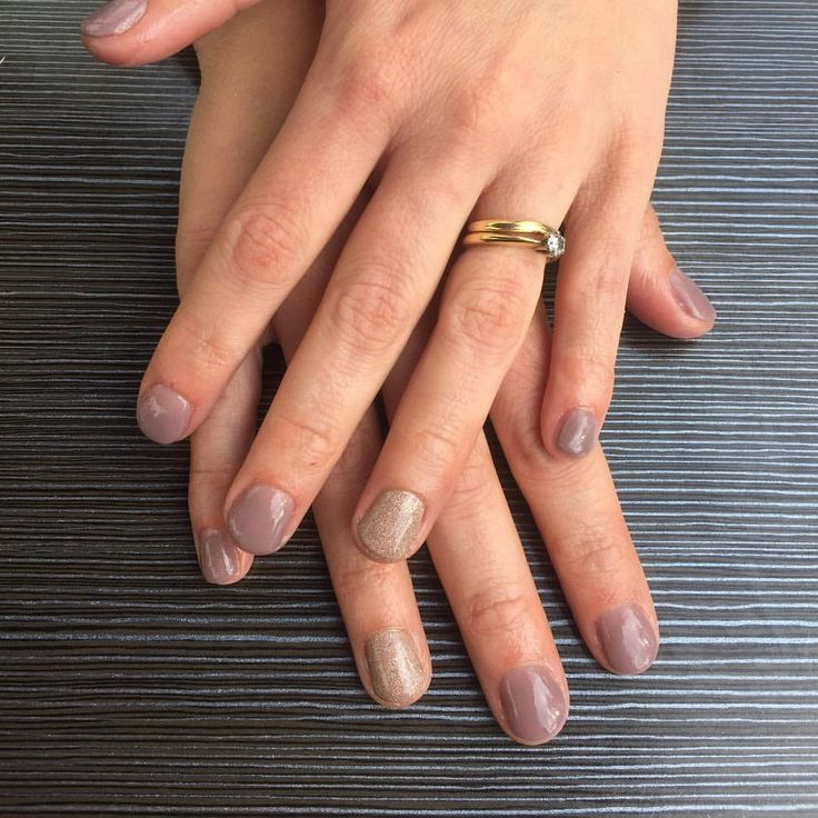 """No8 Nails (@no8nails) on Instagram: """"Definitely the most popular colour so far Gelish Dip Bronzed & Beautiful with Or-chid You Not…"""""""