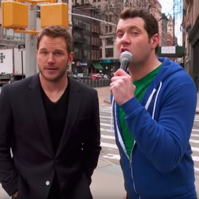 Chris Pratt Gets Mixed Reactions When He's Introduced to Strangers on the Street