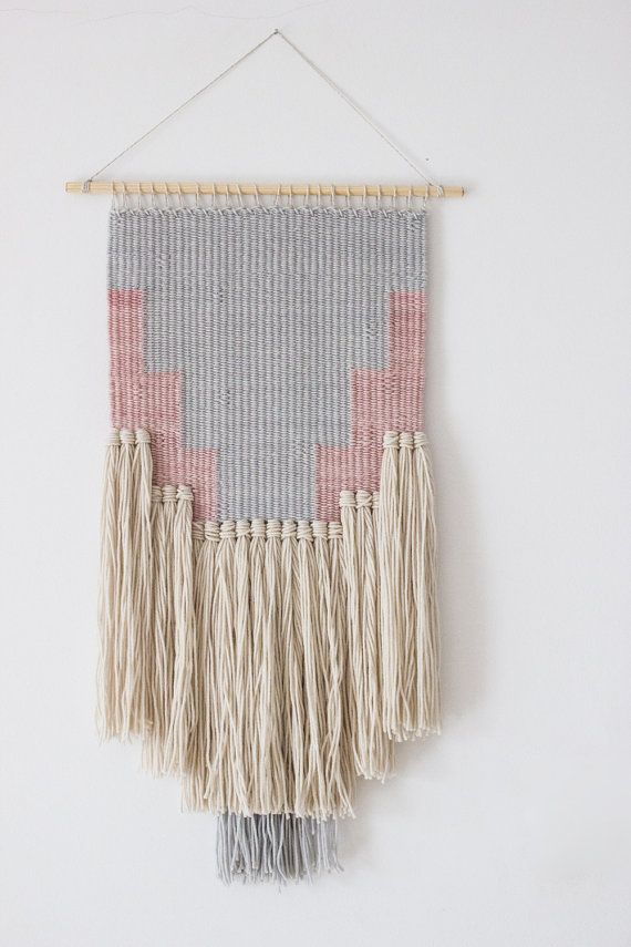 Woven wall hanging Wall tapestry Wall weaving by weavingmystory