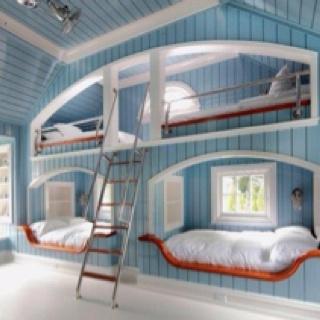 Sweet dreams...: Kids Bedrooms, Decor Ideas, House Ideas, For Kids, Kids Stuff, Bunk Bed, Bedrooms Ideas, Beds Ideas, Kids Rooms