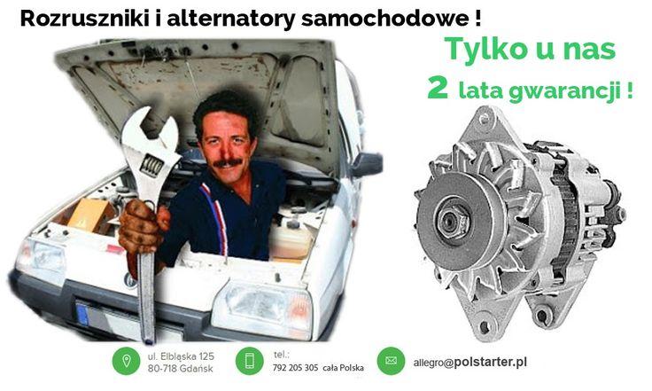 ⚫ Potrzebujesz nowego alternatora lub rozrusznika do swojego samochodu, lub jesteś mechanikiem samochodowym i głowisz się, gdzie znaleźć odpowiednią część dla swojego klienta? 🔧🔩  ⚫ Zaufaj firmie PolStarter! U nas znajdziesz rozrusznik lub alternator w okazyjnej cenie! 😃  ✔ Odwiedź naszą stronę internetową i sklep internetowy: ➜ www.polstarter.pl ➜ www.sklep.polstarter.pl  ⚫ KONTAKT: 📲 792 205 305 ✉ allegro@polstarter.pl  #samochód #samochody #częścisamochodowe #auto #mechanik #serwis