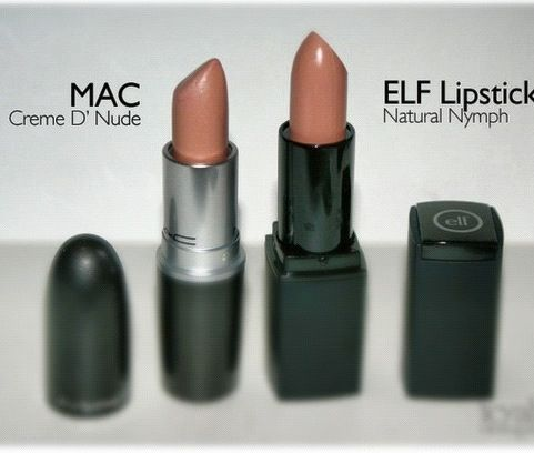 Mac Creme d' nude dupe - Elf Natural Nymph                                                                                                                                                                                 More