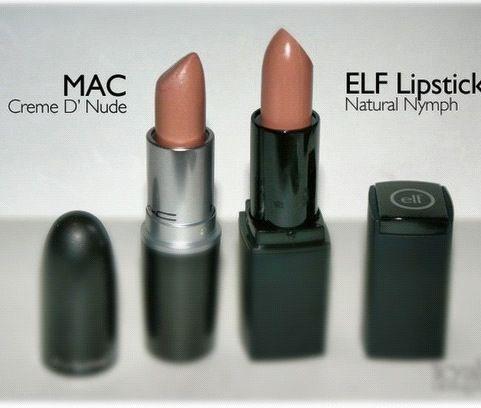 Mac Creme d' nude dupe - Elf Natural Nymph                                                                                                                                                                                 More