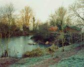 Jem Southam, 'The Pond at Upton Pyne