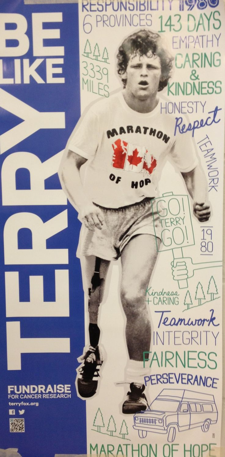 Join us in the terry fox run on September 20th 2013!