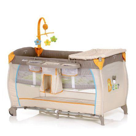 hauck Lit parapluie Babycenter Bear, modèle 2013 - Paiement sécurisé ✓ Livraison offerte dès 40€ ✓ Expédition 2-4 jours ✓