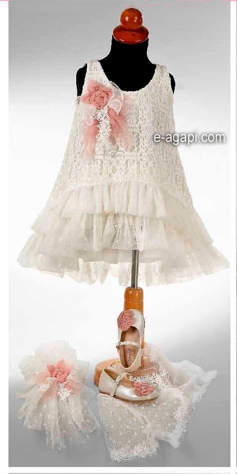 3pc costura bebé vestido encaje boda bebé encaje moderno rosa blanco vestido de traje de niña de las flores de bebé niño vestido de chica de traje de primer cumpleaños