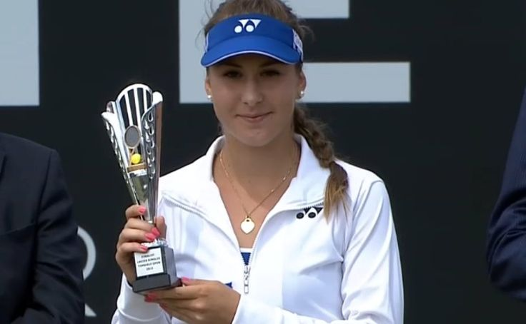 "6/14/15 1st-time #WTA #TopshelfOpen Finalist Belinda Bencic lost 5-7, 3-6 to 1st-time WTA Title winner Camila Giorgi. BELINDA: ""Camila played very well today - she was very tough in the important moments,"" the Swiss said. ""I played well, but it wasn't good enough. She deserved to win. But I'm still very happy with my week."""
