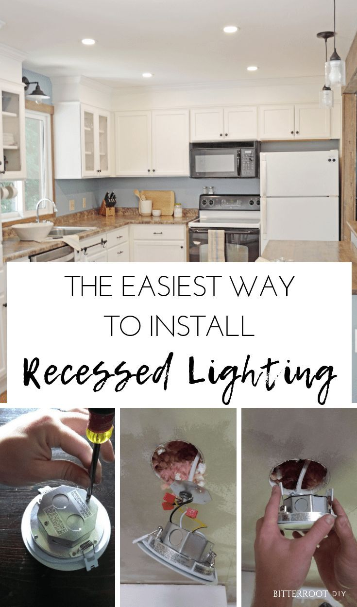 How To Install Recessed Lighting Kitchen