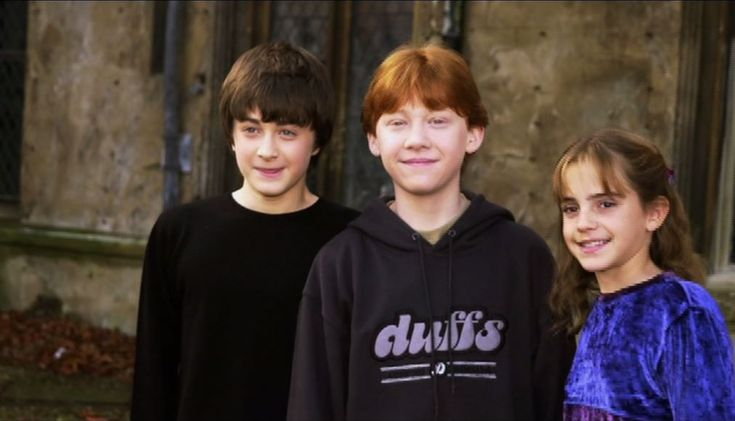Rupert Grint, Daniel Radcliffe, and Emma Watson in Biography (1987)