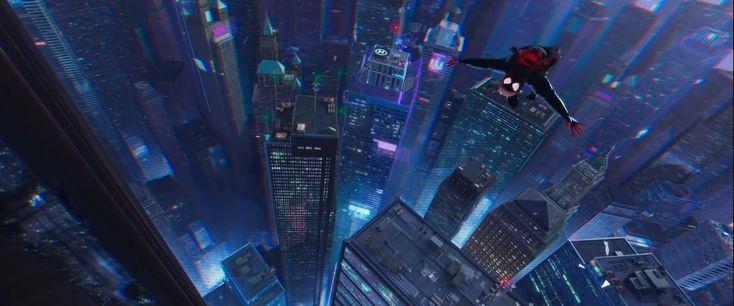 Pepinazo: Trailer del Largometraje de Animacion, Spiderman, Un Nuevo Universo                                    notodoanimacion.es