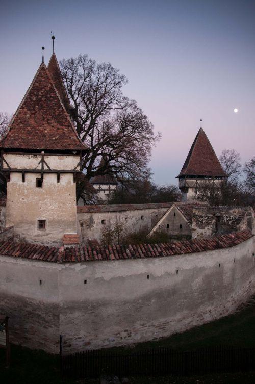 Fortified church in Cincsor, Romania