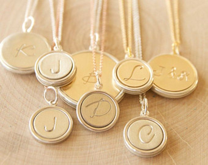 Personalized Necklaces for Her, Initial Pendants for Mothers, Grandmothers Jewelry, Gifts for Her, Love Gifts for Her, Gifts for Wives, Gift
