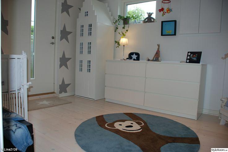 garderob,matta,stjärnor,midbec,ikea,barnrum