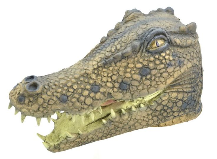 Crocodile. (Rubber Masks) - Male - One Size