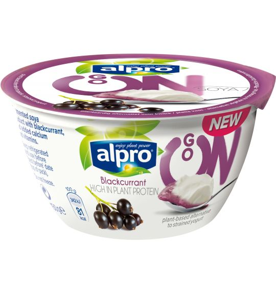 Alpro Go On Blackcurrant: The blackcurrant is just one syn, the mango and the passion fruit are 1.5 syns each. It is a generous sized pot and they are more like pudding than yoghurt.