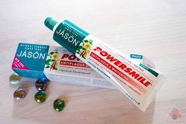 Зубная паста с ванилью и мятой от Jason Natural. IHerb