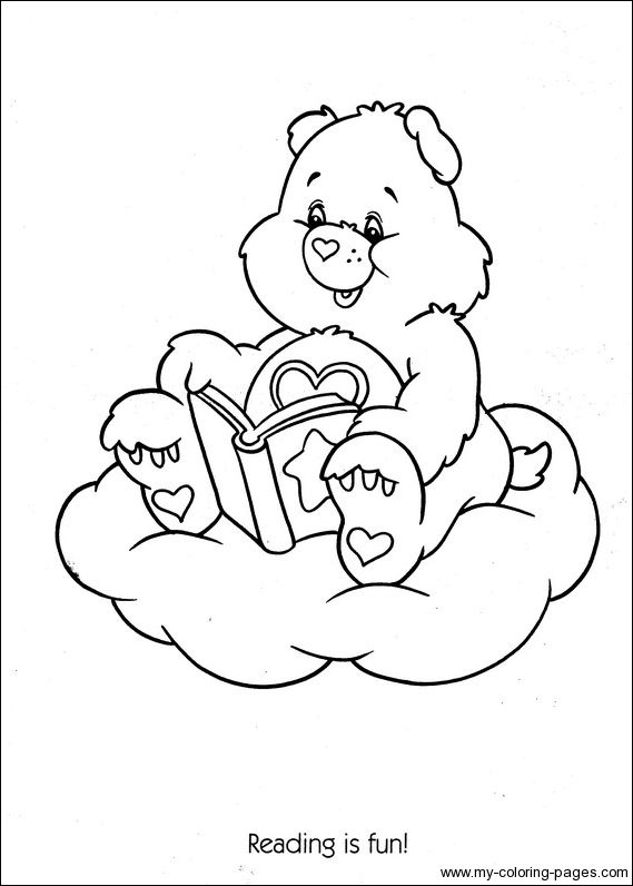 Care Bears Coloring 114