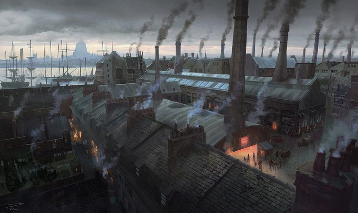 London Rooftops - Characters & Art - Assassin's Creed Syndicate