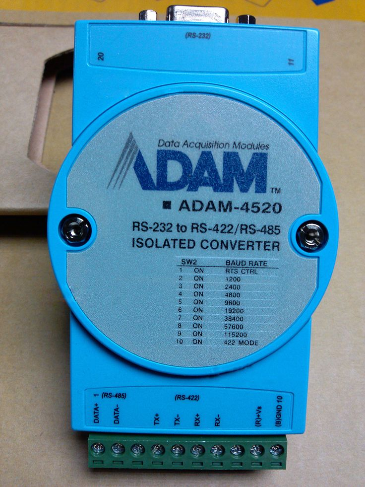 Advantech ADAM-4520 RS-232 to RS-422/485 Isolated Converter