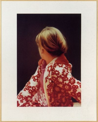 Pujanza Hado con Gerhard Richter. La obra: Betty, 1991