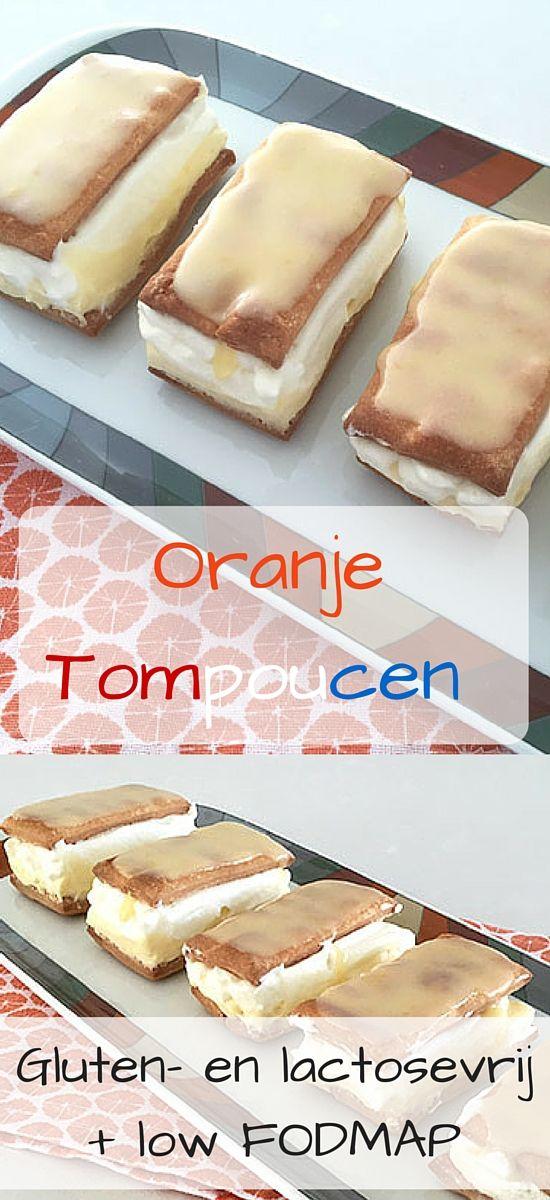 Een echte Koningsdag traditie: Oranje Tompoucen! Ook geschikt voor mensen met allergieën, zoals glutenvrij,