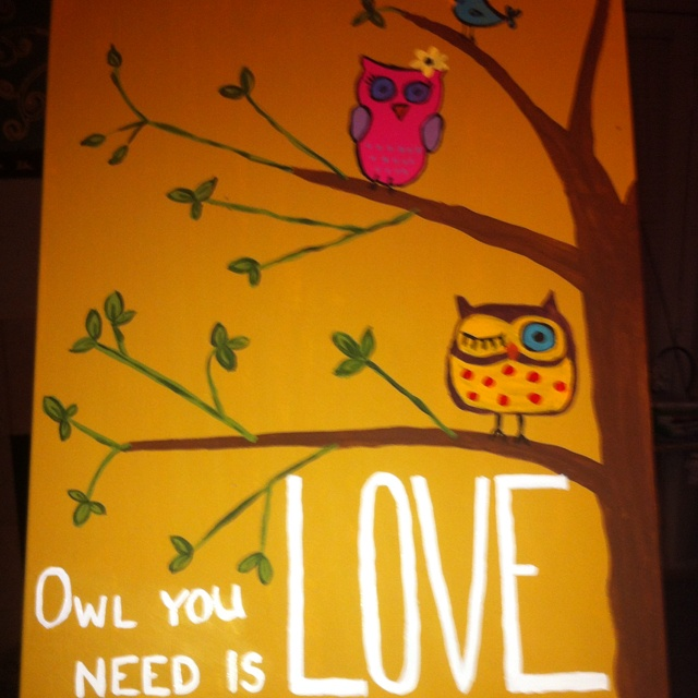 Owl you need is love.