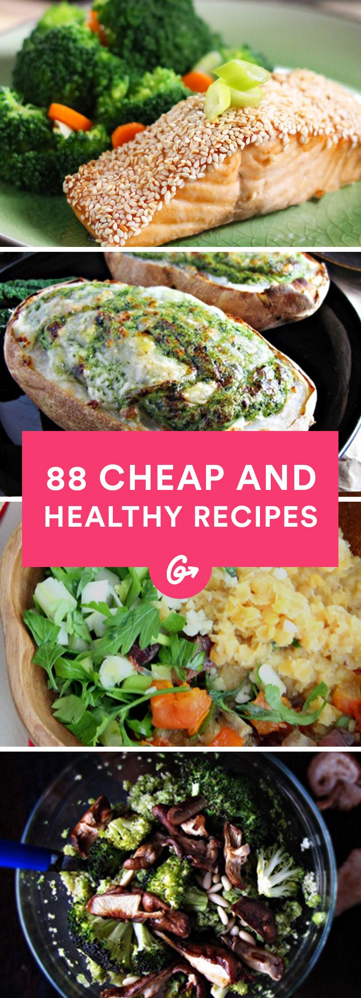 Mejores 9 imgenes de healthy recipes en pinterest comida sana 88 cheap and healthy lunch and dinner recipes forumfinder Image collections