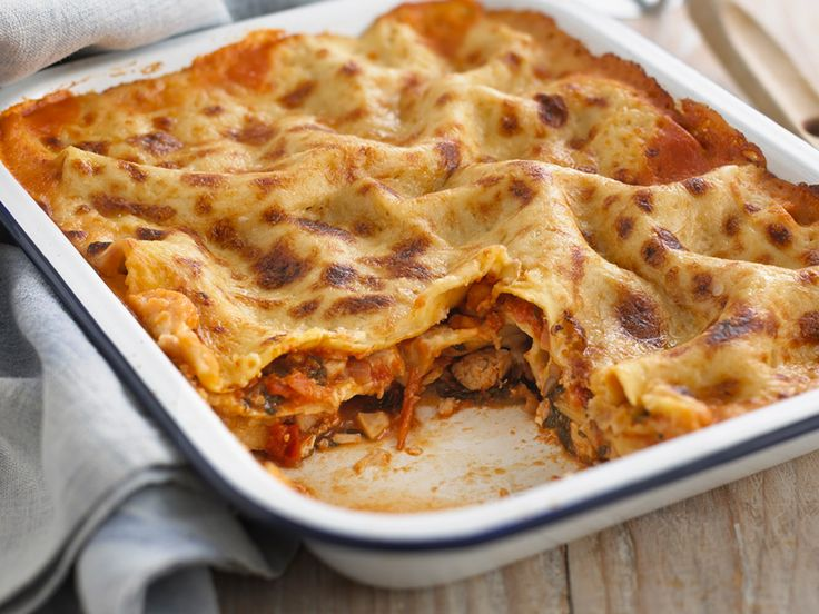 This speedy meal solution is a twist on the classic lasagne dish.