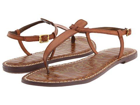 gigi sandal / sam edelman.   Had these in black.  Fab.  Wore them until they broke!