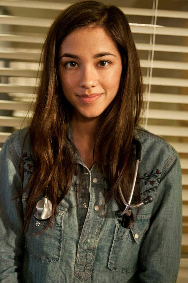 "Seychelle Gabriel as Lourdes from the TV Show ""Falling Skies"". Who would have thought she was the mole?  VTP"