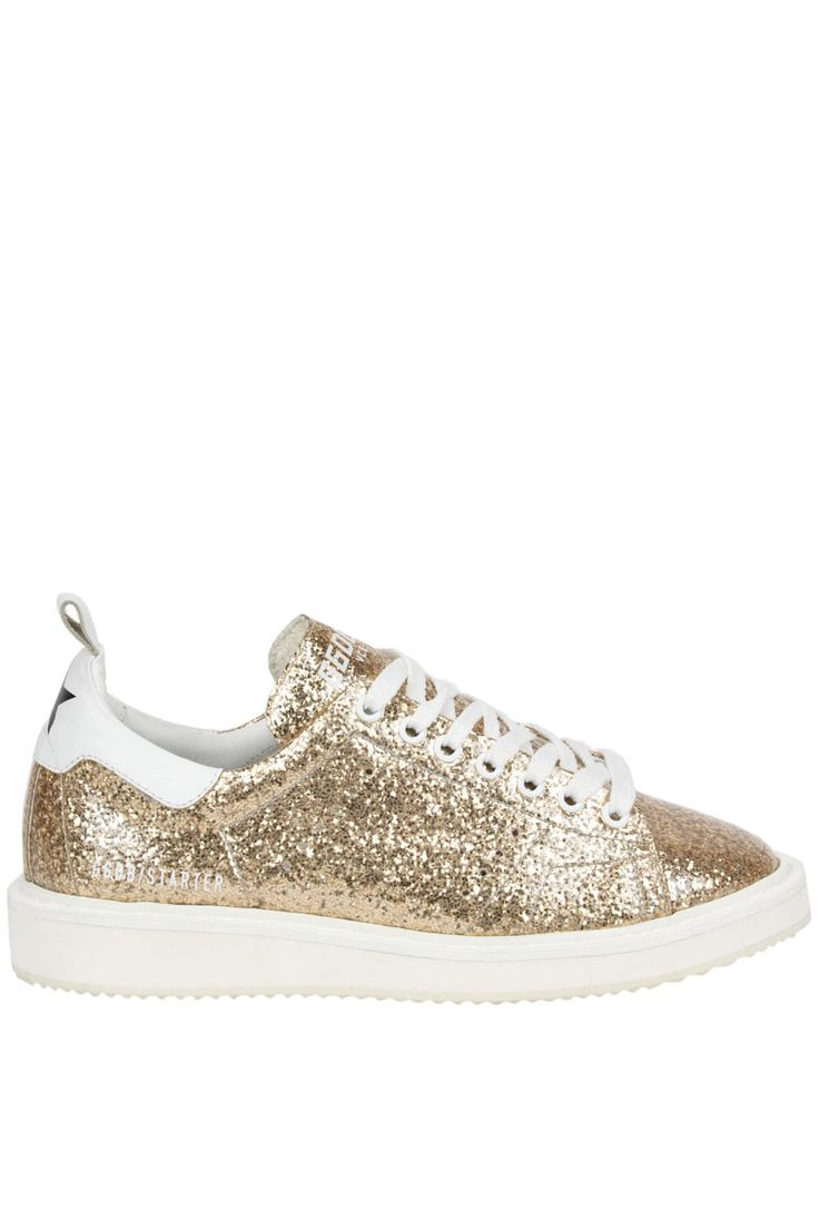 Buy Golden Goose Sneakers on glamest.com Fashion Outlet, select the Golden Goose Starter glittered leather sneakers of your choice up to 35% off.
