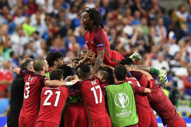 Nach 120 Minuten steht es 1:0 für Portugal !! Die Portugiesen sind zum ersten Mal Europameister !!