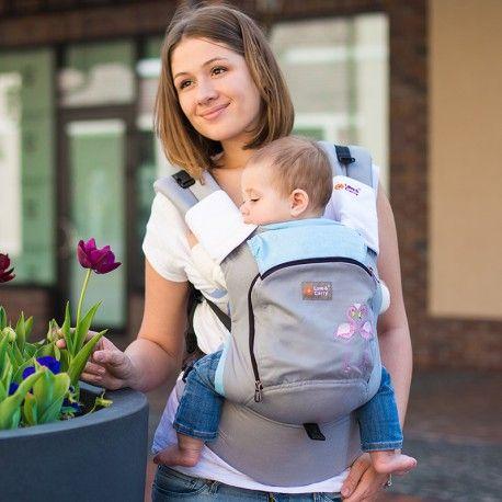 Le moyen de portage idéal pour votre bébé à partir de 4-6 mois jusqu'à 3 ans.Confortable et pratique.